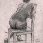 Kobieta siedząca na krześle