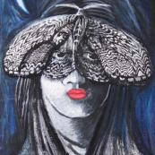 Julita Wiench - Ćma - pastel