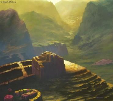 DREAMCOPTER'S SAILOR - obraz olejny Józefa Stolorza