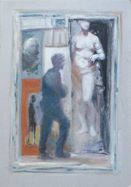 Bez tytułu - obraz Jarosława Miklasiewicza