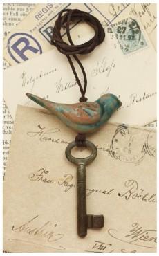 Klucz z ptakiem I