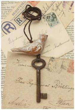 Klucz z ptakiem III