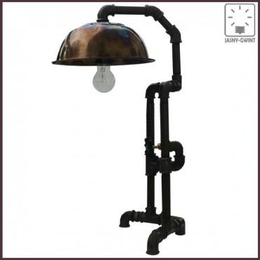 Lampa biurkowa CORNER w stylu Steampunk