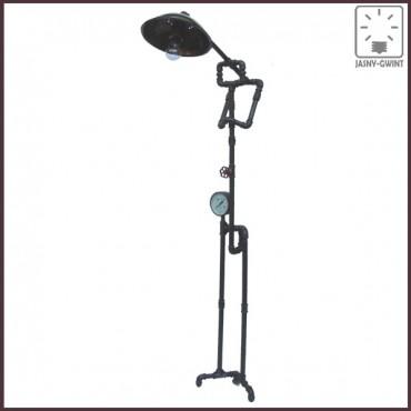 Lampa stojąca READER w stylu Steampunk