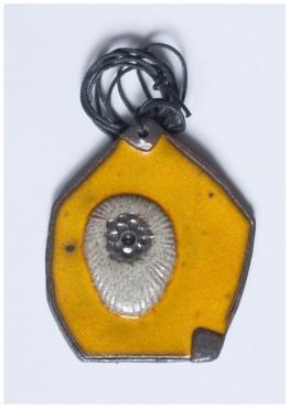 Wisior żółty