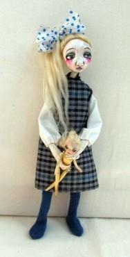 Anielka - lalka kolekcjonerska