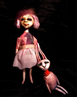 Ona i on, lalki teatralne