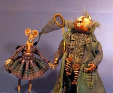 Pan Kocur - lalka na zamówienie