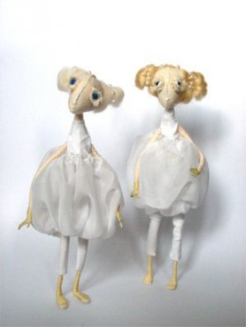 Plotkary, bajkowe lalki