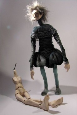 Mały Hamlet, lalka teatralna