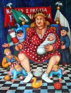 """Portret narodowo-patriotyczny - czyli: Matka Polka od """"Pincet"""""""