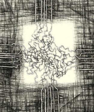 Kwiat czwarty, kompozycja Zenona Dyrszki