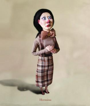 Hermina - lalka artystyczna