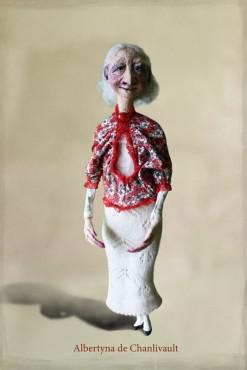 Albertyna de Chanlivault - lalka artystyczna