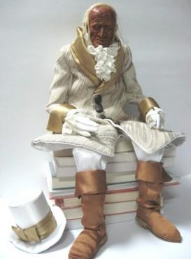 Biały Hrabia - lalka na zamówienie