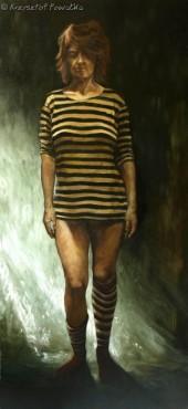 Muza opuszczona IV - Problemy malarstwa - obraz olejny