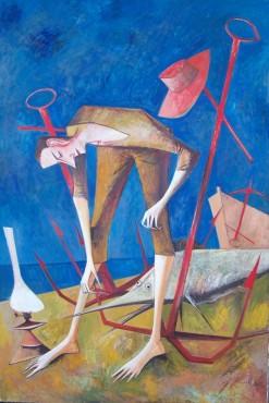 Obraz olejny Iwana Kulika