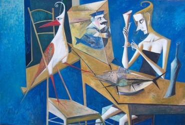 Iwan Kulik - obraz olejny