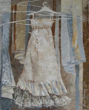 Sukienka Adeli - obraz olejny