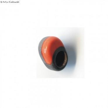 Pierścień kolor szaro-pomarańczowy