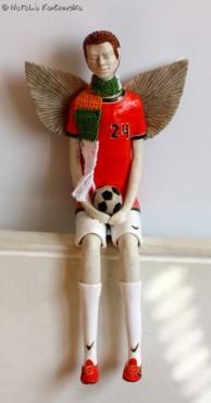 Anioł - piłkarz