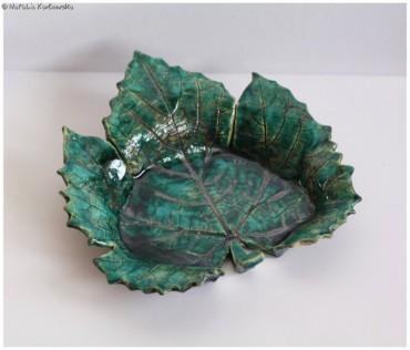 Patera w kształcie liścia I