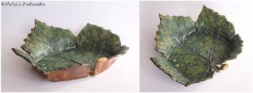 Patera w kształcie liścia III