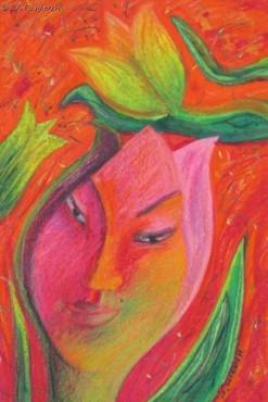 Tulipan - pastel