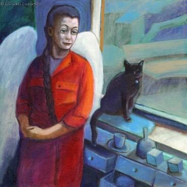 Rozmowa Anioła z Kotem