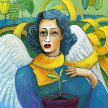 Anioł Ogrodnik