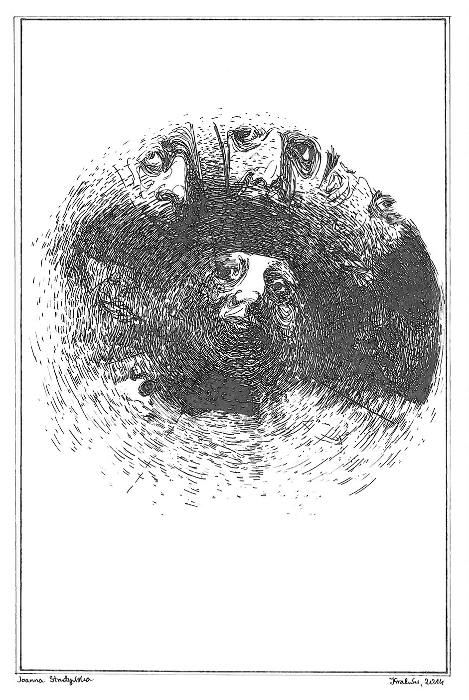 Mandala z twarzy 1