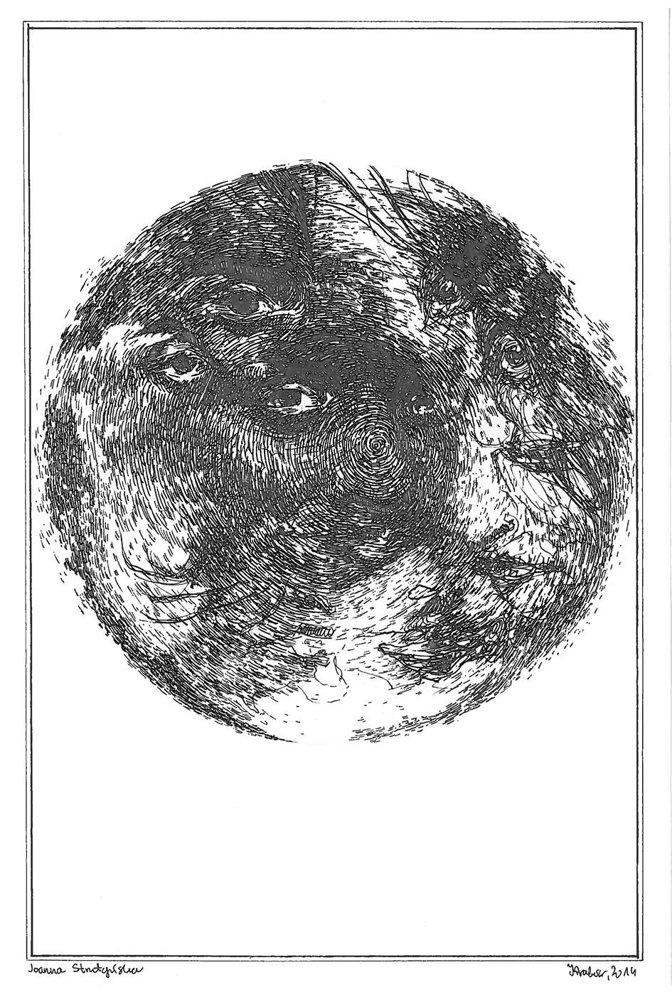 Mandala z twarzy 2