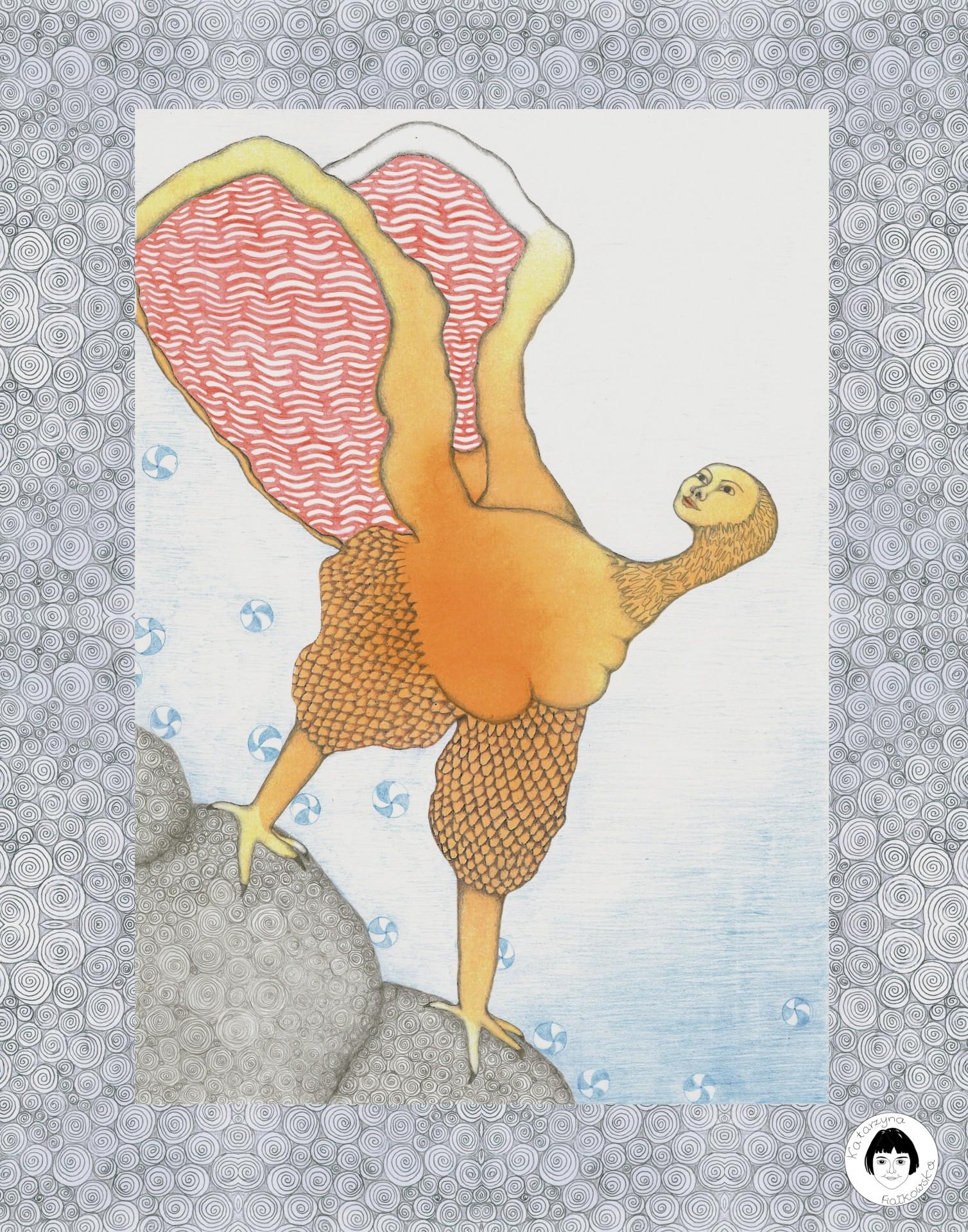 Ptaszydło - plakat / reprodukcja