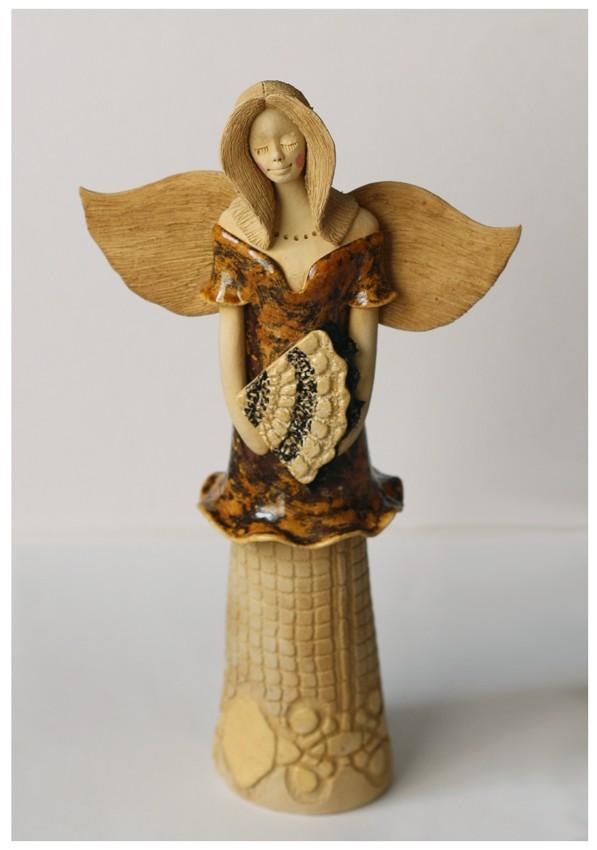 Anioł z wachlarzem