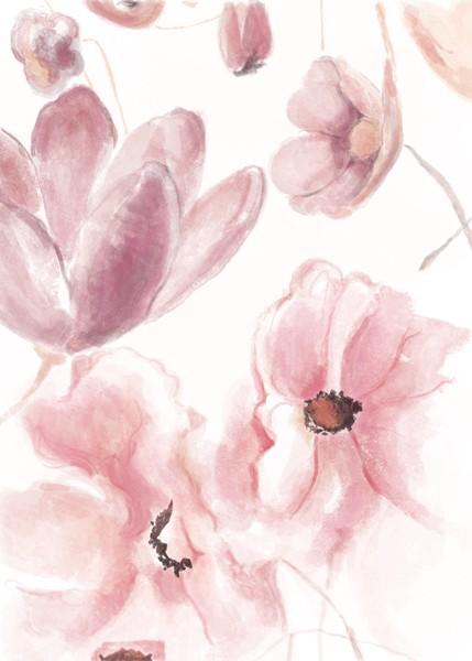 Digital painting - Te japońskie kwiaty są dla Pani