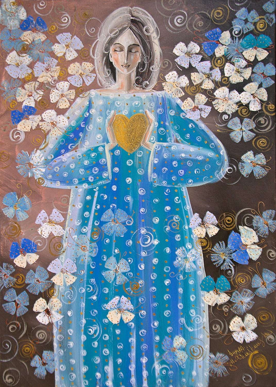 Dłonie są krajobrazem serca ( Jan Paweł II)