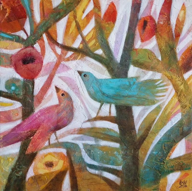 Wiosenne ptaki..