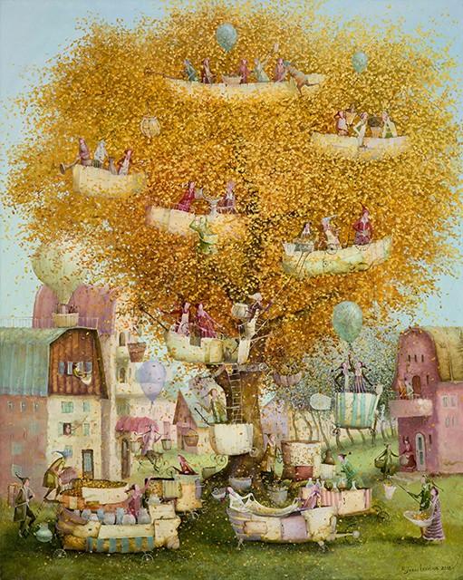 The sun tree