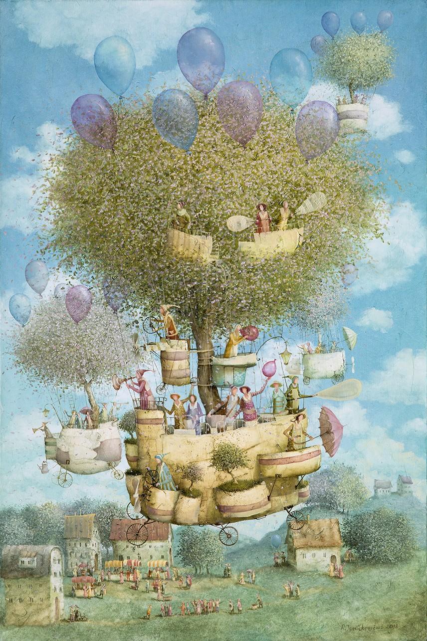 Flying gardeners