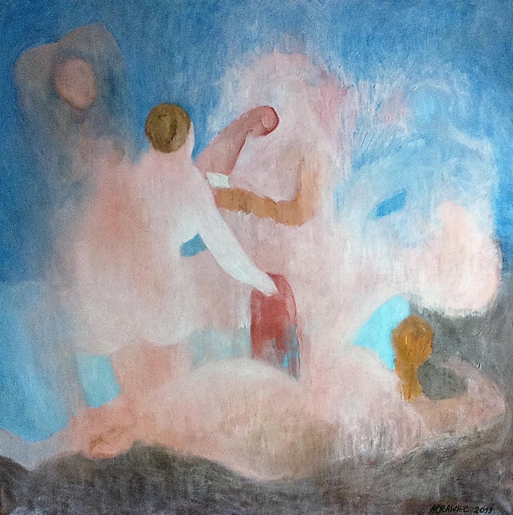 Batszeba czytająca list od króla Dawida