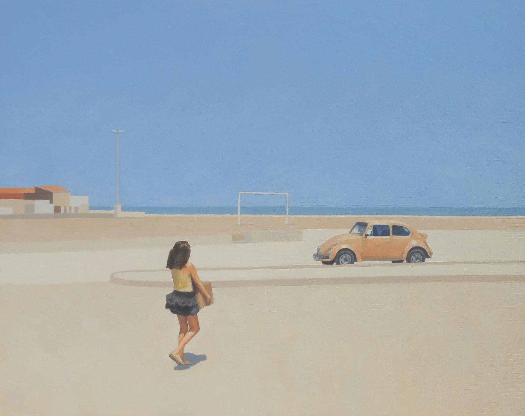 Dziewczyna i samochód