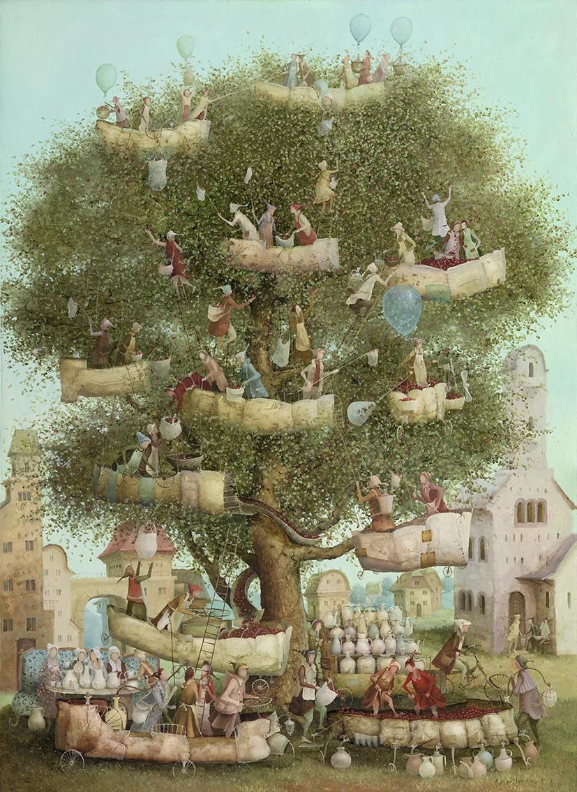Wine tree