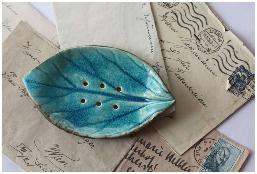 Mydelnicza listek turkusowa