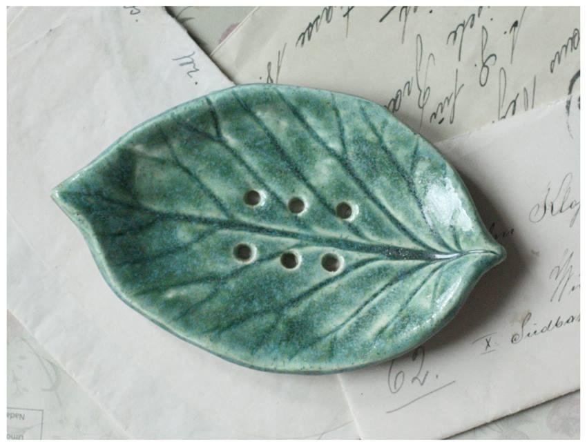 Mydelniczka listek zielony
