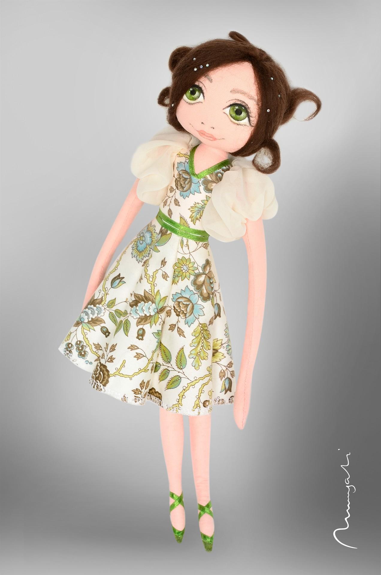 Ola - artystyczna lalka szmaciana