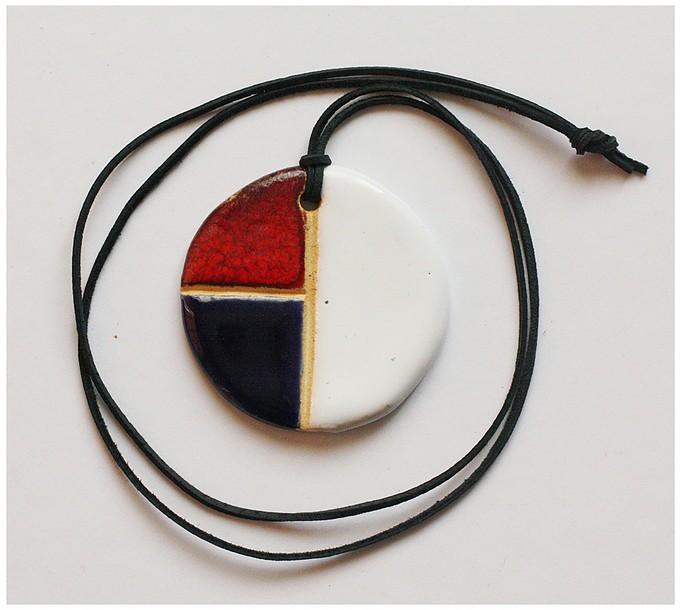 Wisior Mondrian