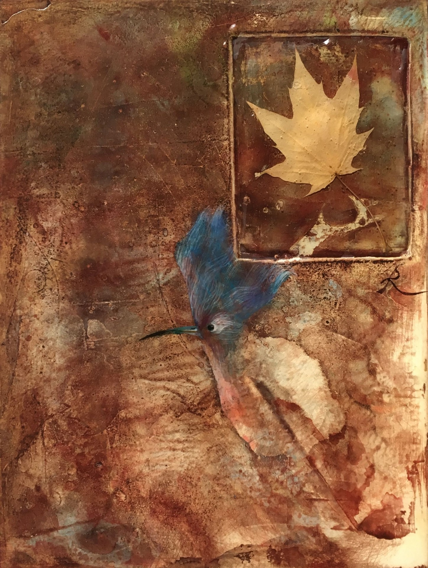 Niebieski ptak