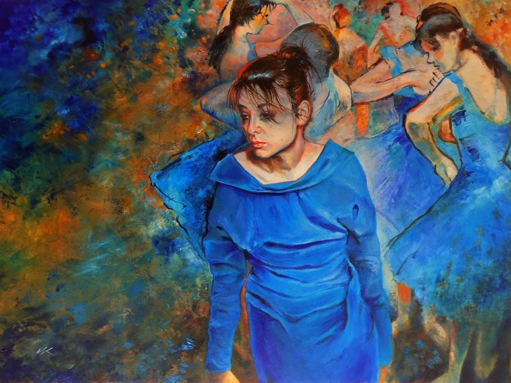 Błękitne tancerki