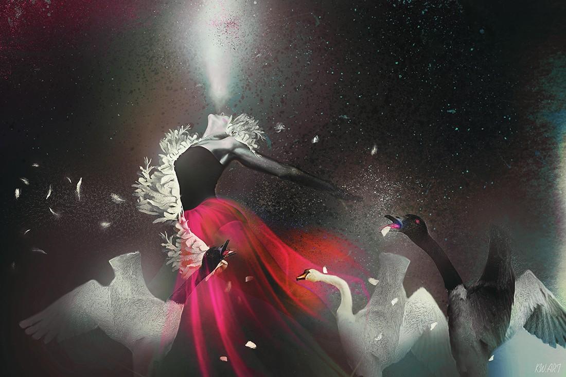 Swan singing