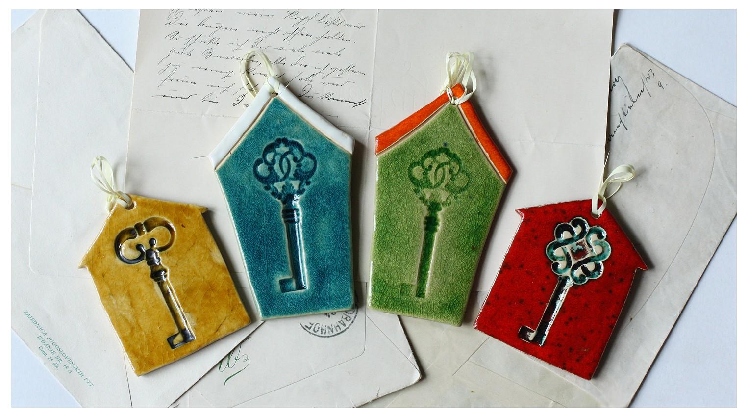 Zestaw 4 domków z kluczem